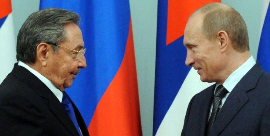 Рауль Кастро, Владимир Путин / Фото: Reutets