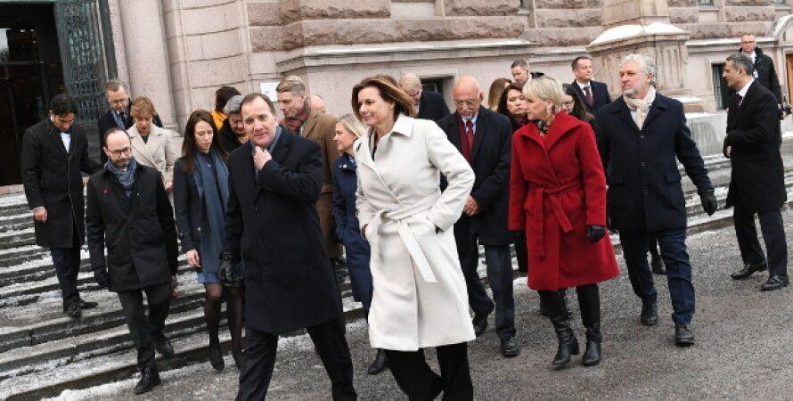 Фото: премьер-министр Стефан Лефвен / thelocal.se