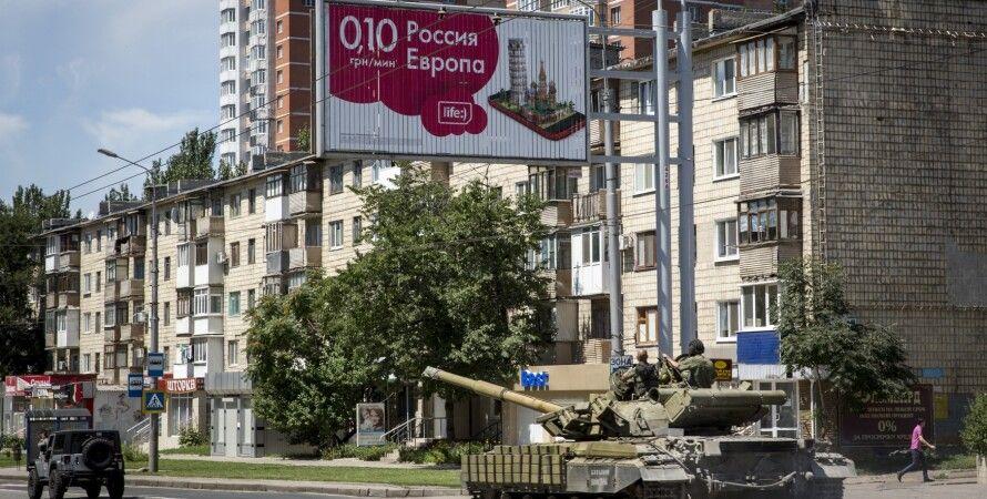 Танки в Донецке / Фото: Getty Images