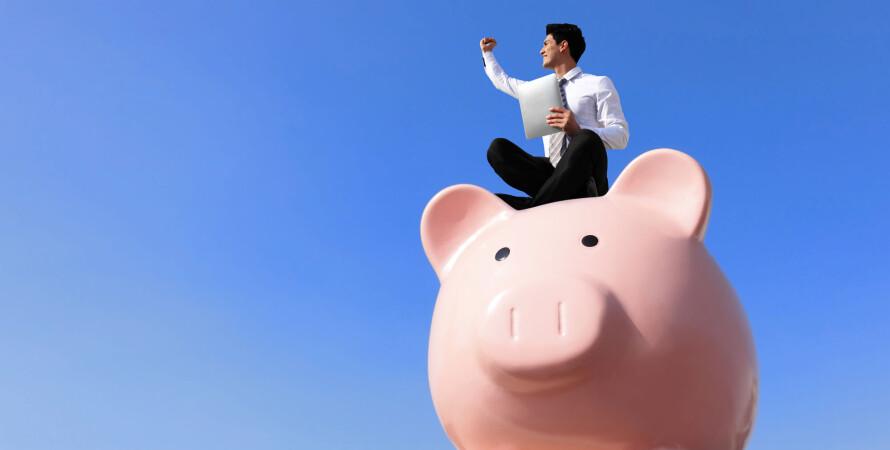 свиня-скарбничка, скарбничка, заощадження