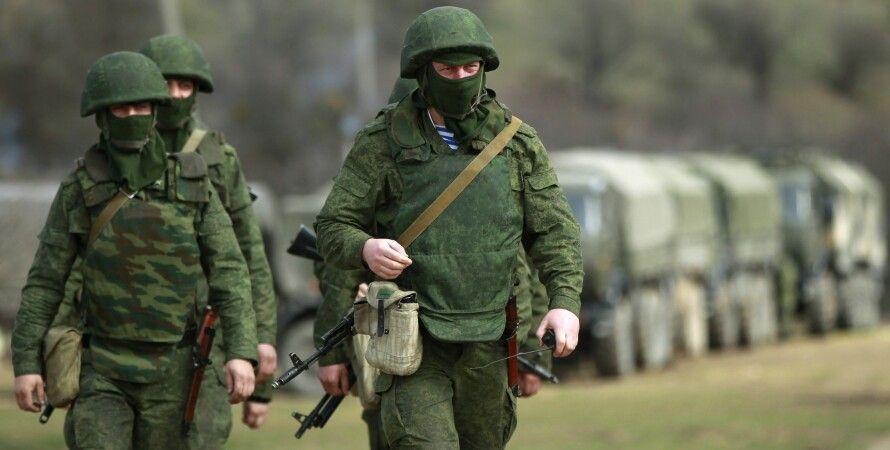 Российские оккупанты в Крыму / Фото: Reuters
