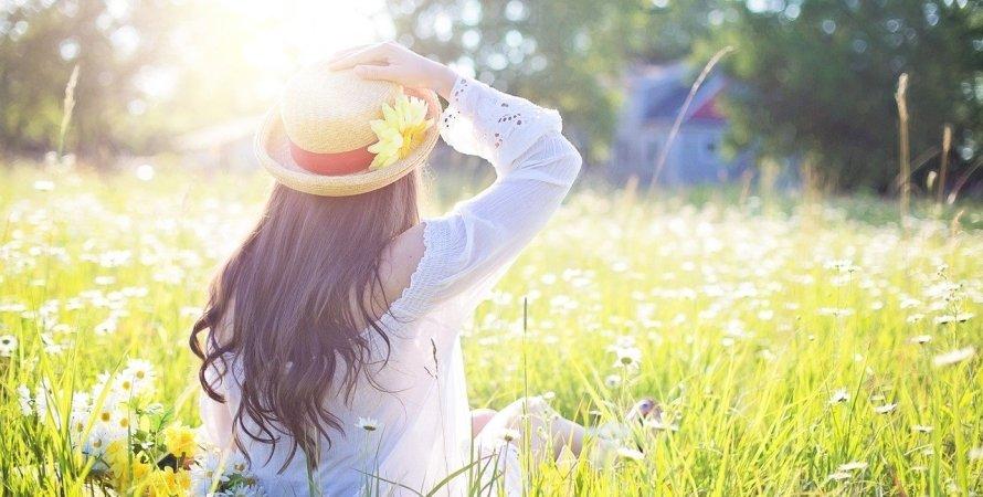погода в Украине, весна, поле, солнце, теплая погода