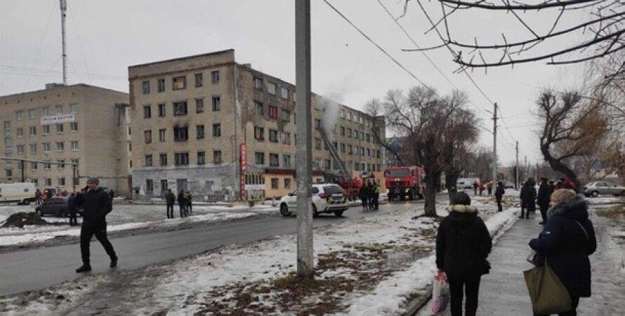 Павлоград, Днепропетровская область, пожар, общежитие, переселенцы