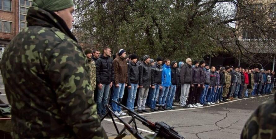 Боевики ДНР, призыв на воинскую службу, российская агрессия, война на Донбассе
