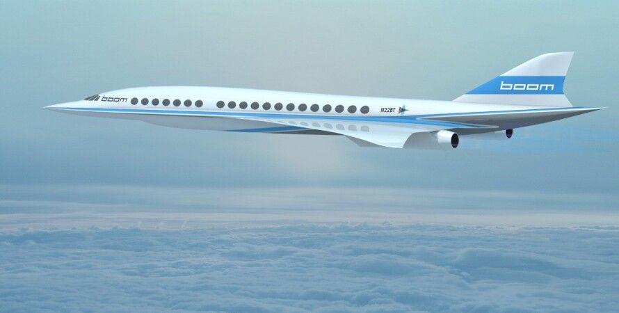 Новый сверхзвуковой самолет / Фото: boom.aero