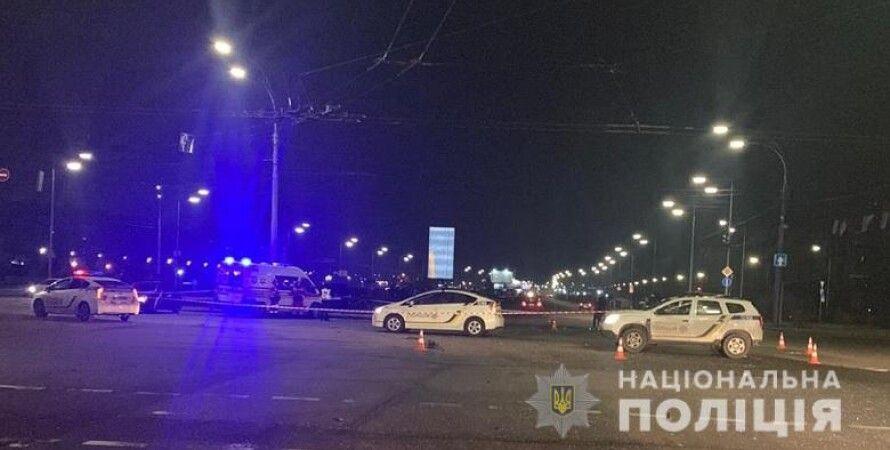полиция, киев, дтп, авария, полиция