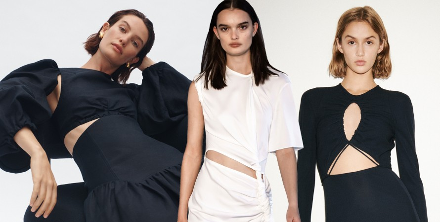 тренд сut out, модный тренд 2021, total look, чистые цвета, лето 2021