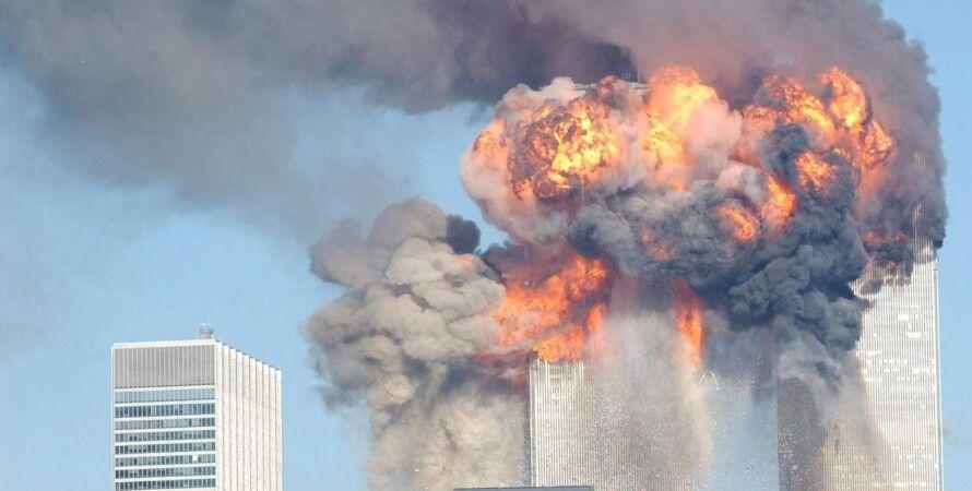Теракт в Нью-Йорке 11 сентября 2001 года / Фото: Getty Images