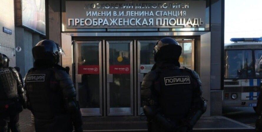 Росія, силовики, автозаки, суд, алексей навальний