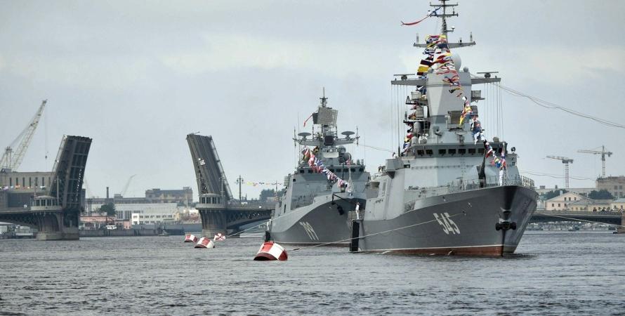 войска РФ, Азовское море, аннексия Азовского моря, флот РФ, агрессия РФ в Азовском море