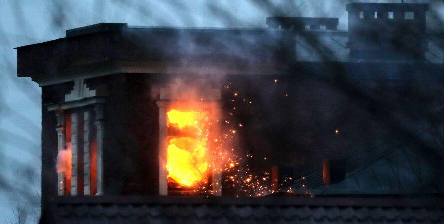 Підмосков'ї, Митіщинській стрілок, будинок, пожежа, гранатомет