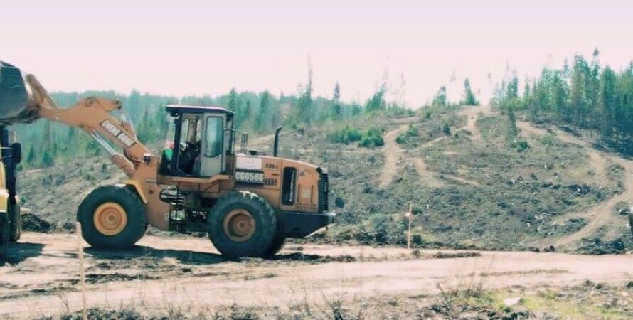 Стройка тоннеля / Фото: кадр из видео Youtube