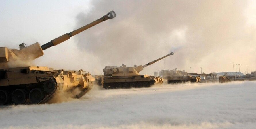 Самоходная артиллерия / Фото: armyphotos.net