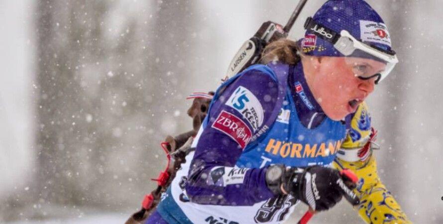 Анастасия Меркушина, биатлон, серебро, Польша, чемпионат Европы