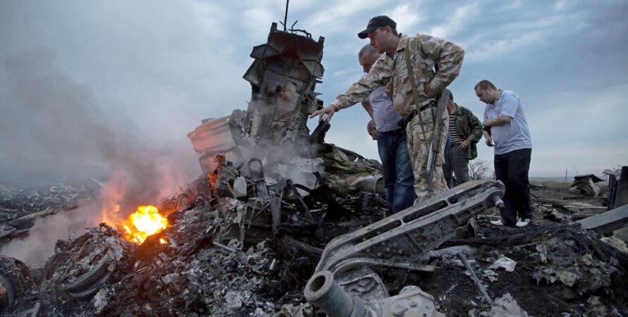 "Место падения ""Боинг 777"" / Фото: ""ИТАР-ТАСС"""