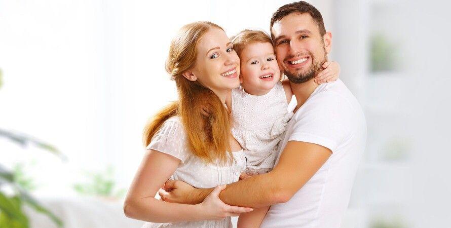 посмішка, сім'я, фото