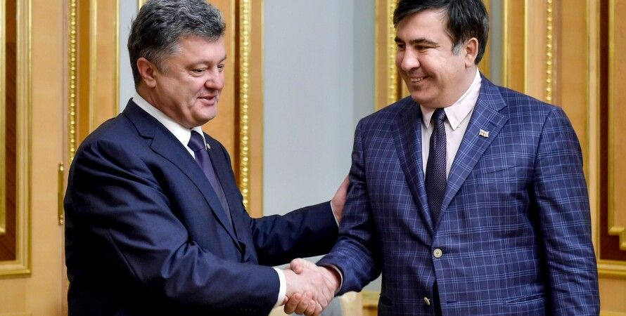 Порошенко и Саакашвили / Фото пресс-службы президента