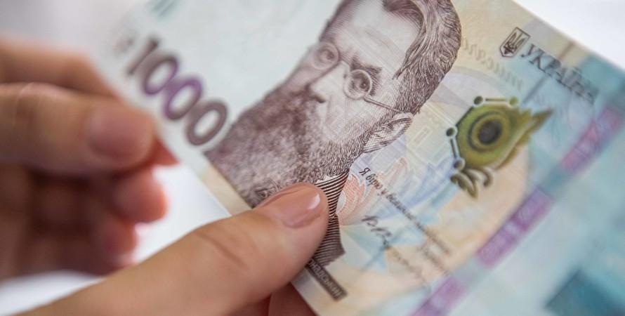 банкнота, гривна, фото