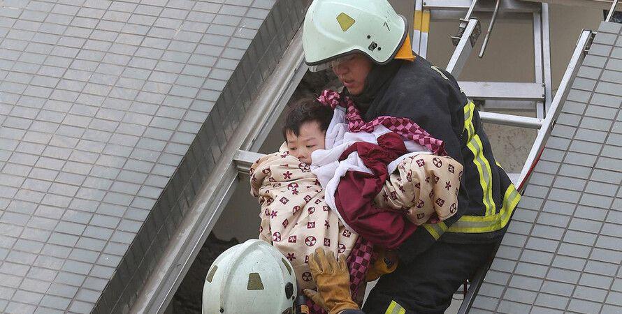 Землетрясение в Тайване / Фото: Reuters