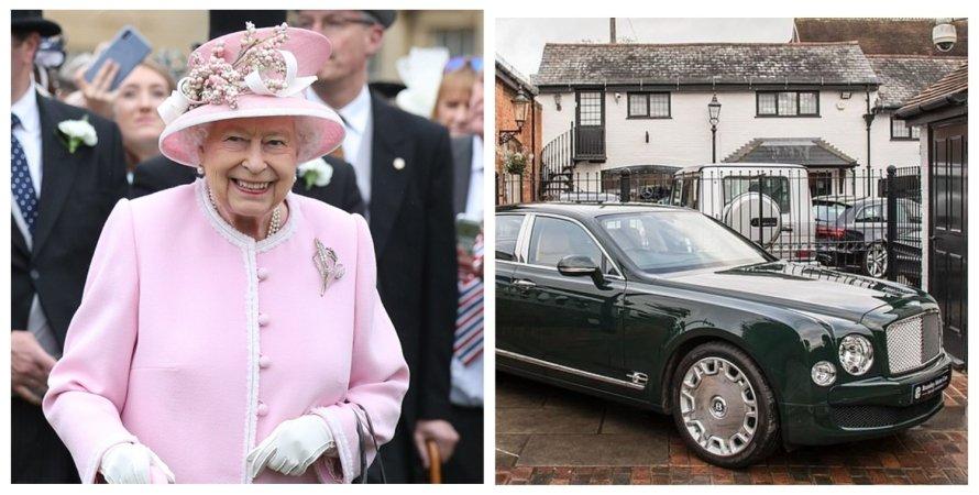 Bentley, королева, Елизавета II