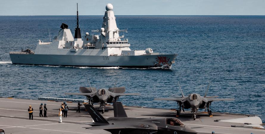 довооружение эсминцев британии