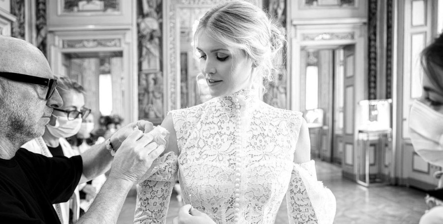 Кітті Спенсер, весілля, плаття, Dolce & Gabbana