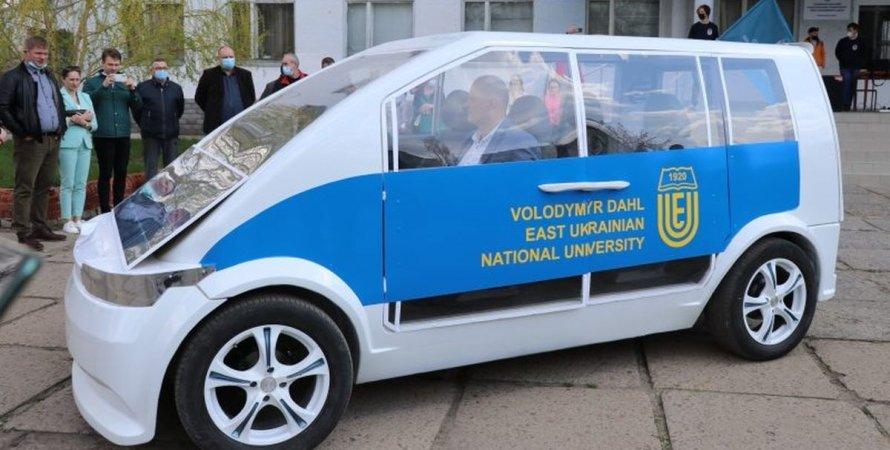 Ева, автомобиль, электромобиль, прототип, макет,