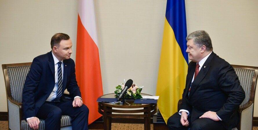 Анджей Дуда и Петр Порошенко / Фото: twitter.com/stsegolko