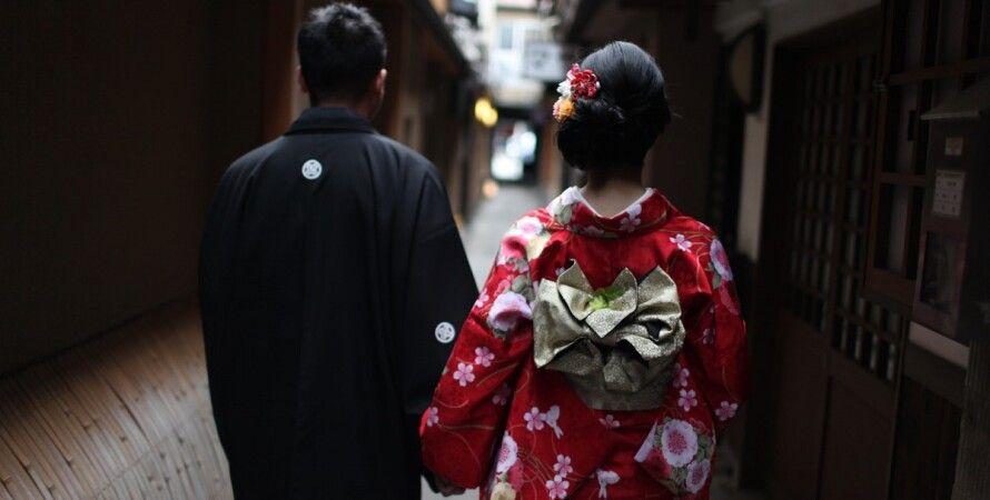 Япония, пара, люди, японцы