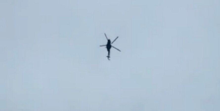 ДПСУ, Росія, кордон, вертоліт, прикордонний контроль, МІ-8, порушення повітряного простору