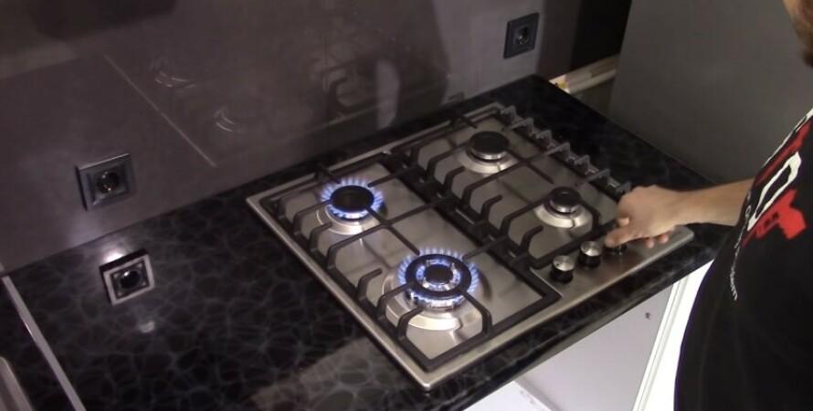 газова плита, кухня