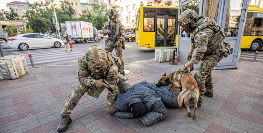 Киев, СБУ, спецназ, учения,