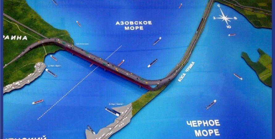 Россия планирует построить мост в аннексированный Крым / Фото: maket-expo.ru