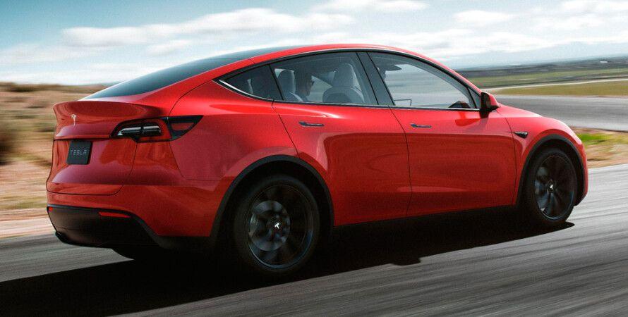 Tesla, убрала, базовая, комплектация, Model Y, фото