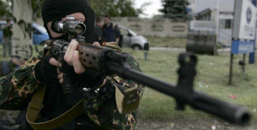 Боевик ЛНР / Фото: Новая газета