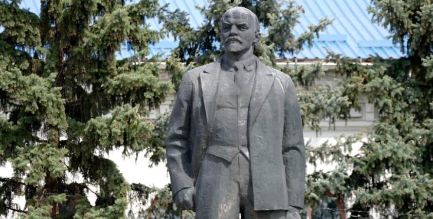Ленин, памятник, изюм, памятник ленину, бронза