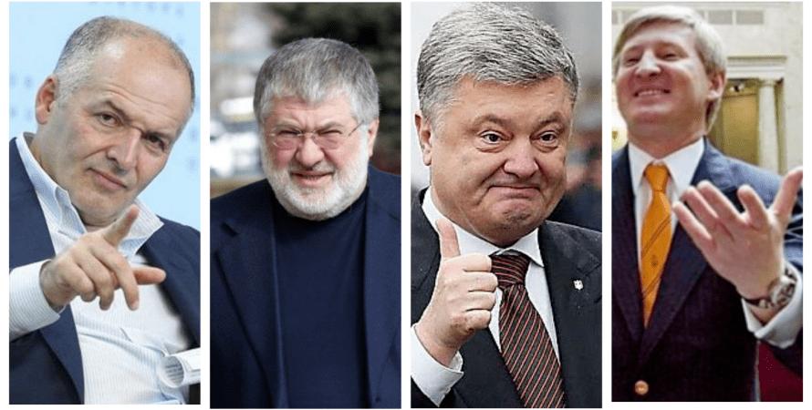 Пинчук, Коломойский, Порошенко, Ахметов, богатейшие люди, Forbes, форбс, рейтинг форбс, самые богатые