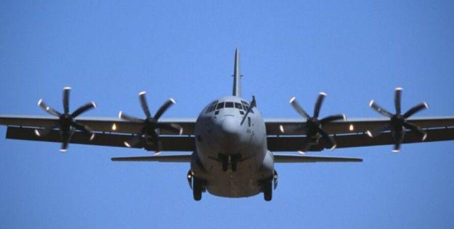 """Самолет C-130 """"Геркулес""""/Фото: ВВС"""