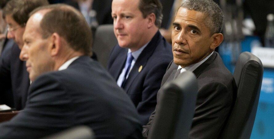 Кэмерон, Обама, Эббот на саммите G20 / Фото: Getty Images