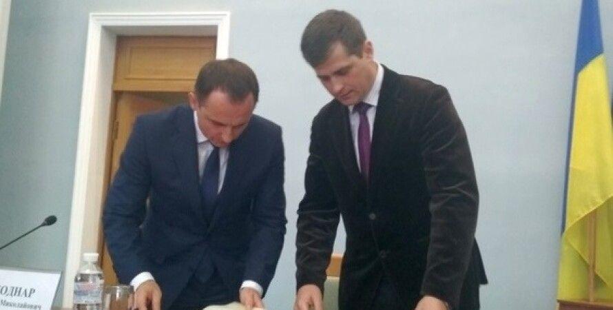 Юрий Погасий (справа)/Фото: http://procherk.info
