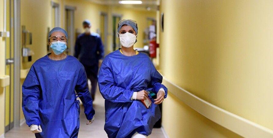 врачи, коронавирус, пандемия, covid-19, больница, защитные маски