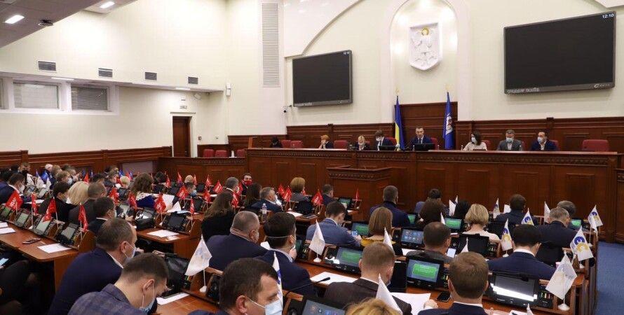 Киевсовет, голосование киевский горсовет