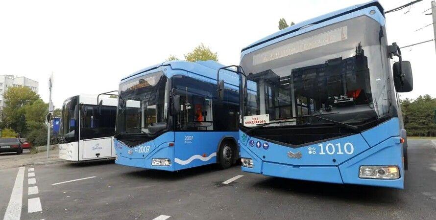 Днепровские электробусы