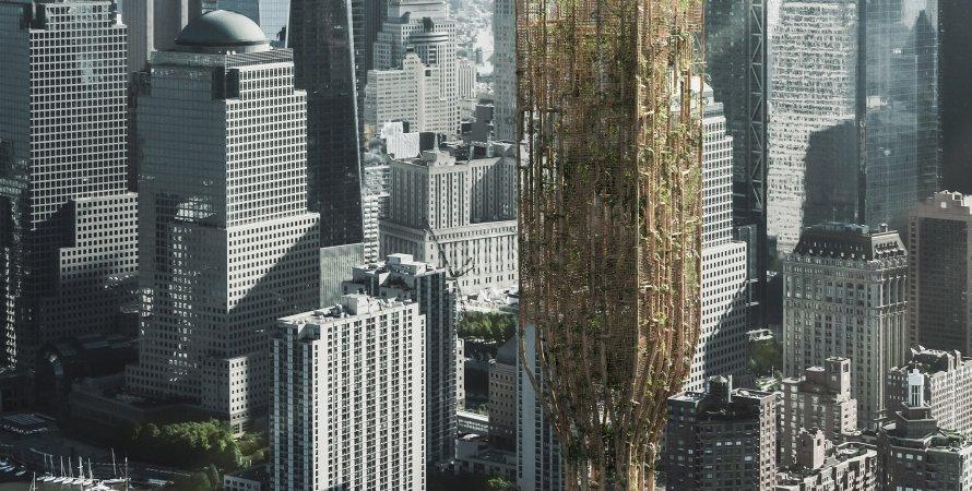 Проект, небоскреб