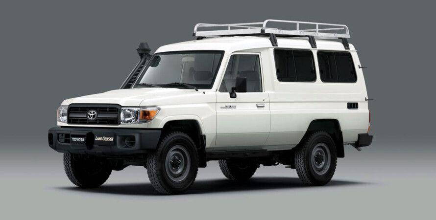 Toyota, Toyota Land Cruiser, внедорожник, Toyota перевозка вакцин