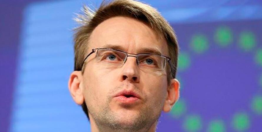 Питер Стано, представитель ЕС по иностранным делам, ЕС призвал Украину не наступать на свободу слова, блокировка каналов