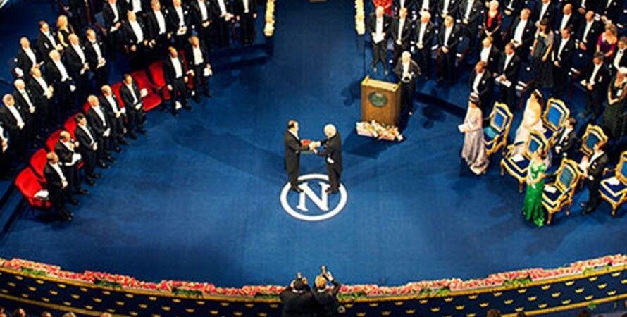 Награждение Нобелевской премией / Фото: Nobelprize.org