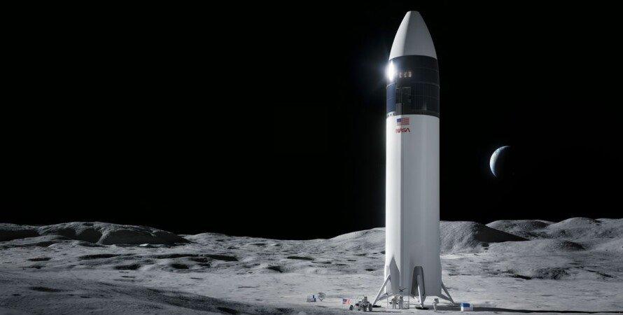 NASA, SpaceX, кнтракт, астронавти, Місяць,