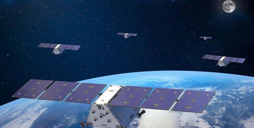 супутники в космосі