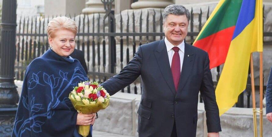 Петр Порошенко и Даля Грибаускайте / Фото: Facebook.com/D.Grybauskaite